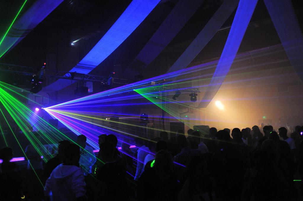 Joël Sono Concept laser show