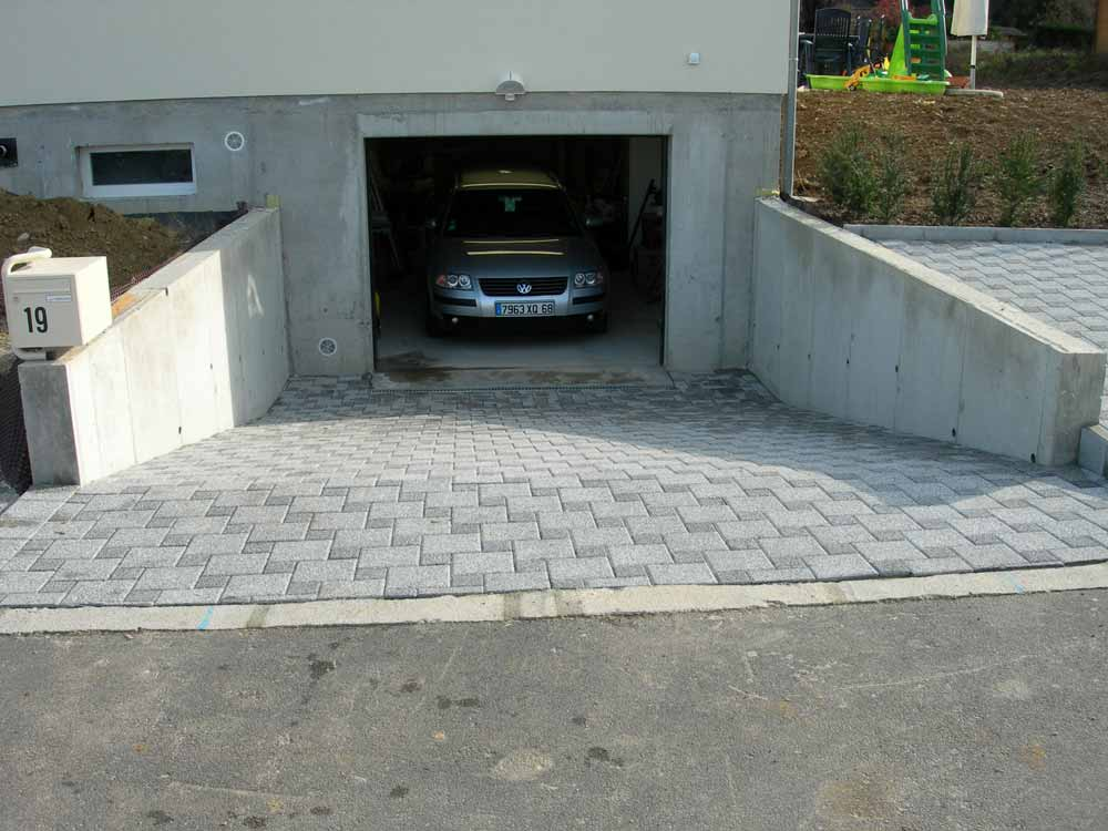 Amusing Comment Faire Une Descente De Garage En Beton Gallery  Best