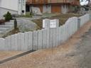 Mur et boîte aux lettres