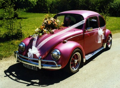 Coccinelle mariage