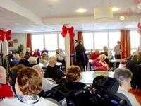 La salle et les pensionnaires