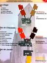 Plan de l'EHPAD sur fond d'église
