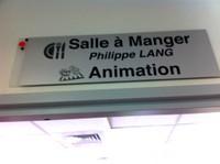 Salle à manger Philippe Lang