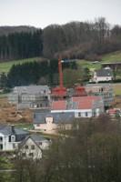 La future maison médicalisée de Waldighoffen, le 13 janvier 2011