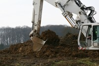 On creuse énormément au chantier de l'EHPAD de Waldighoffen