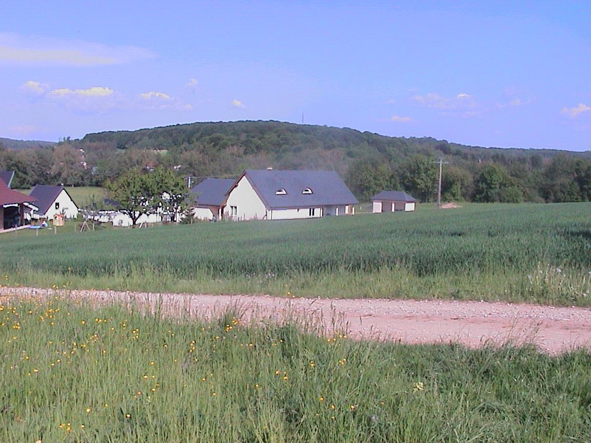 Photo du terrain du futur EHPAD à Waldighoffen
