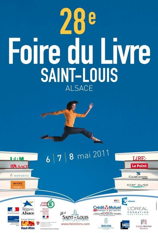 Affiche de la 28ème Foire du Livre à Saint-Louis