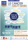 Affiche forum de la ligue contre le cancer novembre2017