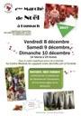 Affiche marché de Noël de Luppach 2017