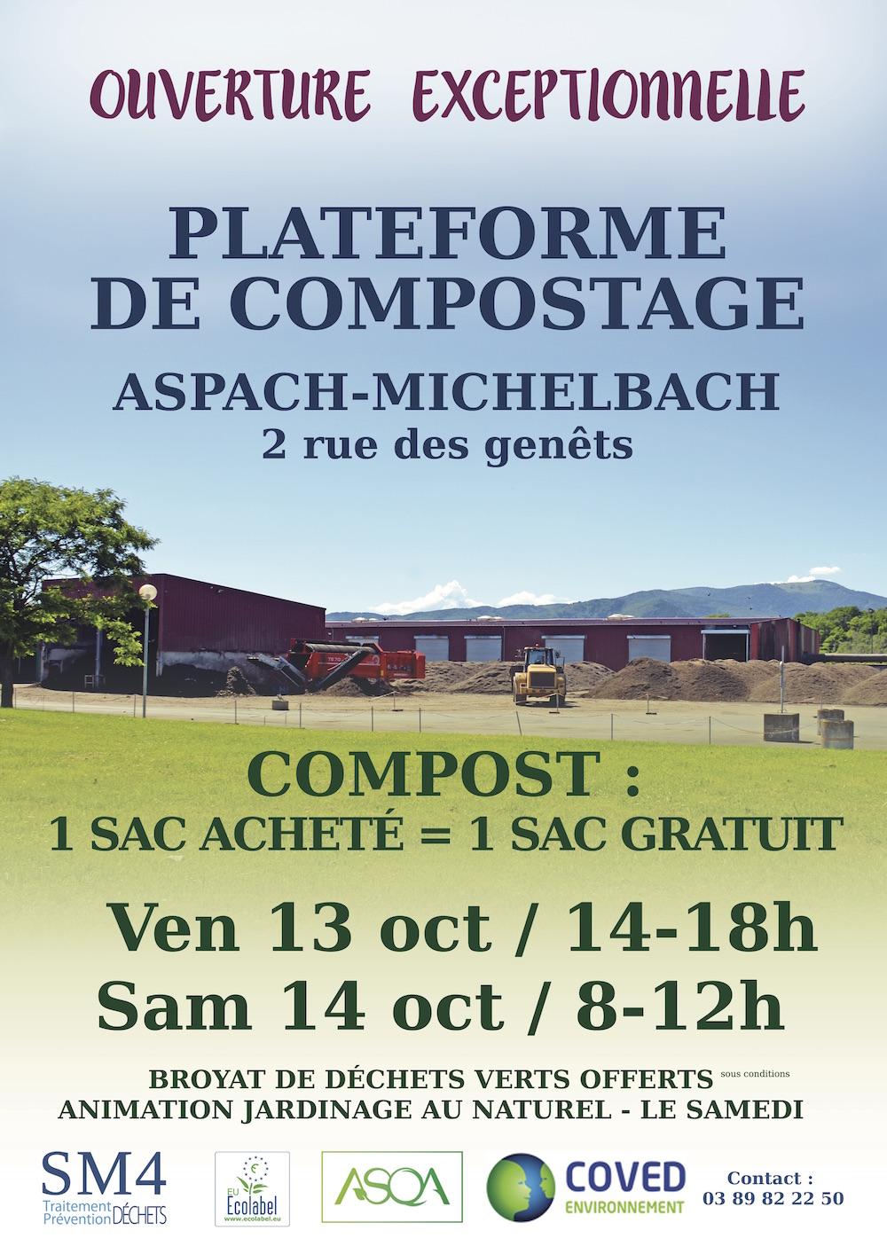 Affiche promotion compost 2017