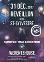 Affiche Réveillon de la Saint Sylvestre 2017-2018 à Werentzhouse