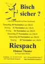 Affiche théâtre Alsacien Riespach 2018
