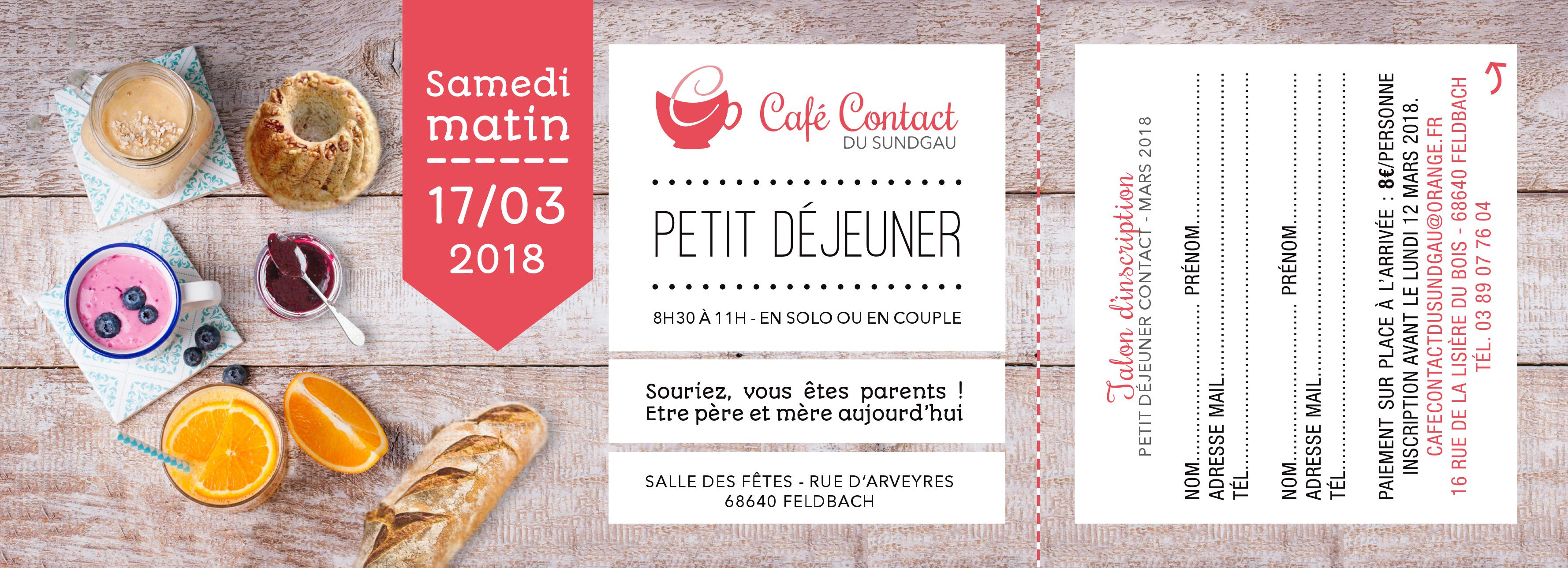Café contact - bulletin d'inscription