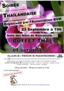 Flyer Soirée Thailandaise - Bien Vivre à Muespach - Septembre 2017