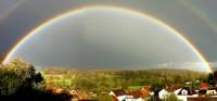 Arc en ciel panoramique Sundgau