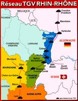 réseau Rhin Rhone