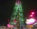 Feu d'artifice Dubaï nouvel an 2014