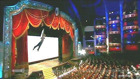 Le Cirque du Soleil aux Oscars 2012
