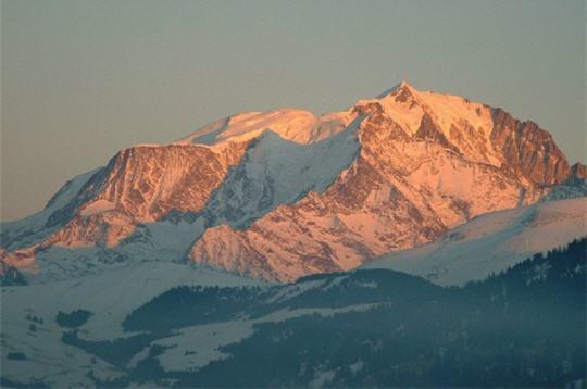 Mont Blanc photo Lynda Boudreaux