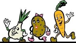 Légumes en ribambelle