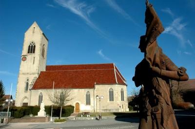 Jeanne d'Arc et l'église