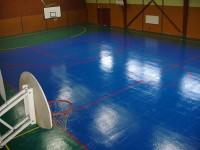 Le terrain de basket de Waldighoffen