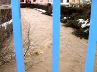 Crue de l'Ill en mars 2006 à Waldighoffen