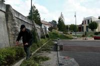 Taille des arbustes au site Lang le 27 septembre 2010 - Philippe plan large